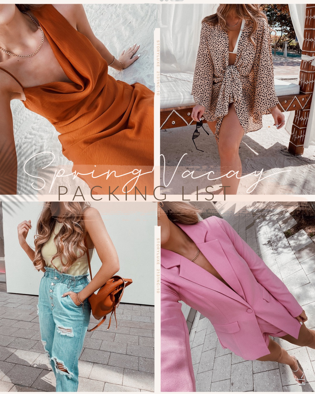 Spring Vacay Packing List