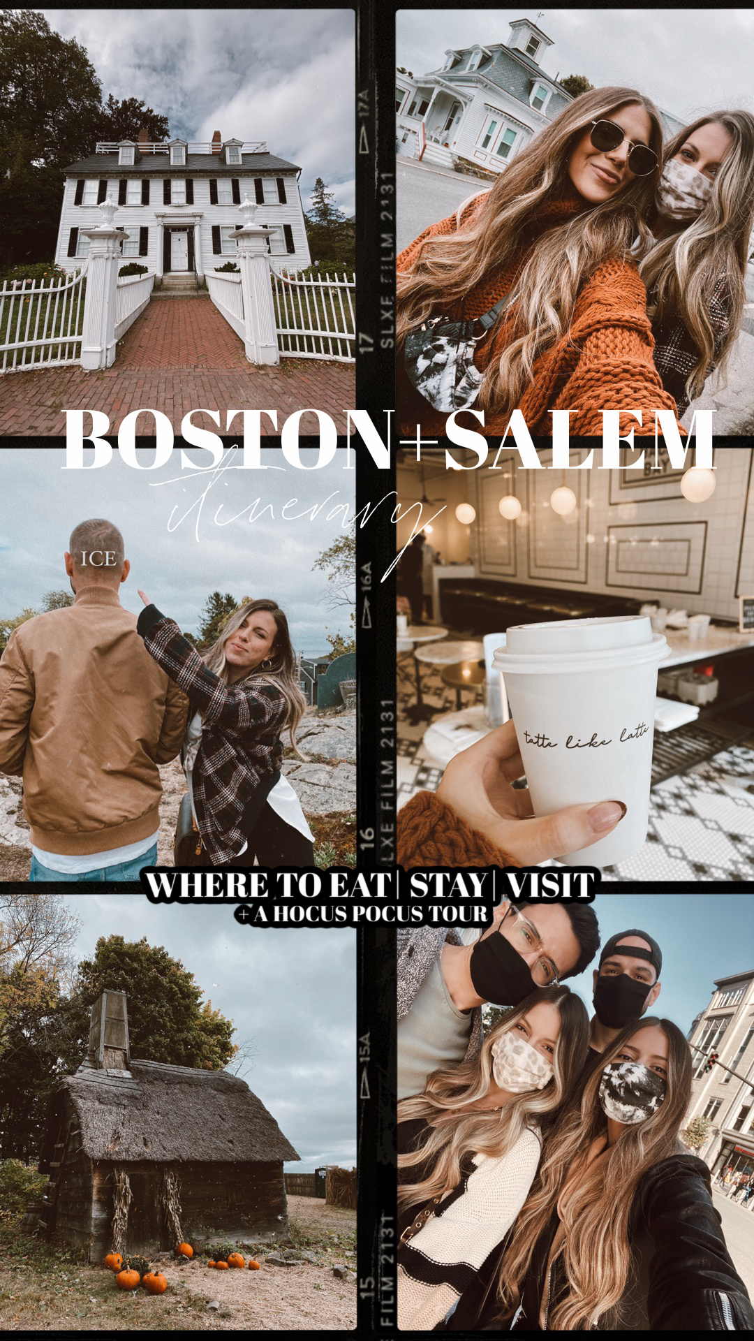 BOSTON + SALEM ITINERARY: Where to eat, stay, and a Hocus Pocus guide.