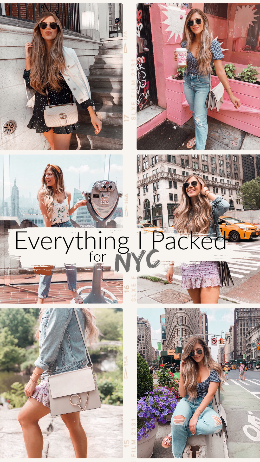 Everything I Packed For 4 Days in NYC