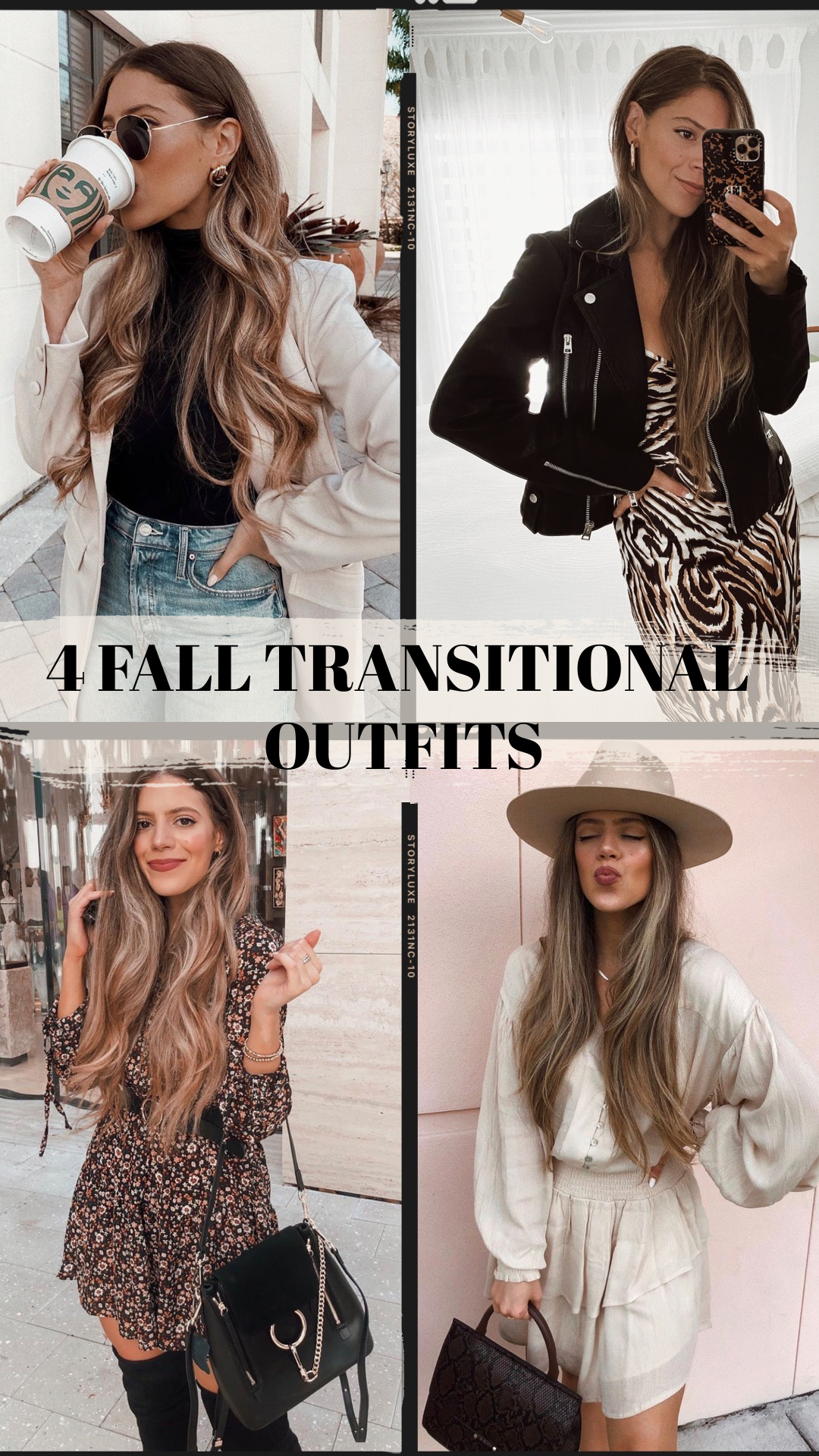 4 FALL TRANSITIONAL OUTFITS