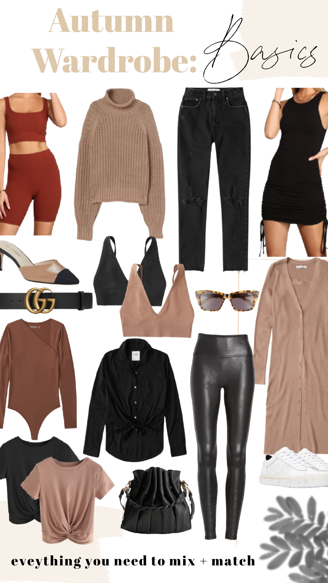 AUTUMN WARDROBE BASICS